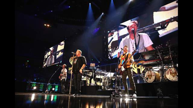 Monday, March 5: Rascal FlattsAUSTIN, TX - MAY 06: Singer Gary LeVox (C,) Joe Don Rooney (L) and Jay DeMarcus (R) of Rascal Flatts perform onstage during the 2017 iHeartCountry Festival, A Music Experience by AT&T at The Frank Erwin Center on May 6, 2017 in Austin, Texas. (Photo by Christopher Polk/Getty Images for iHeartMedia )
