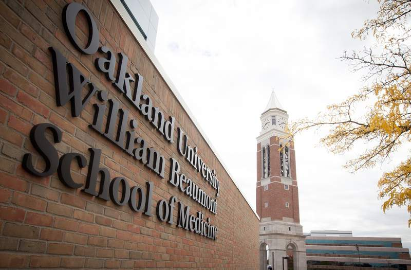 Oakland University announced on Monday, March 8, 2021, that its medical affiliation agreement with Beaumont Health has been extended through 2041.