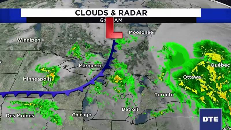 Metro Detroit weather forecast for Sept. 30, 2020 -- morning update