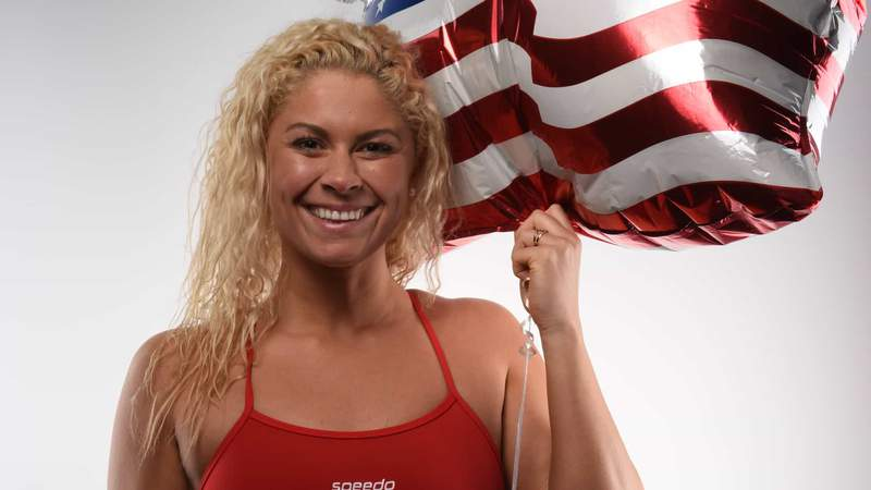 Olympic swimming veteran Elizabeth Beisel will chat with athletes about their experiences in the unique environment of the Olympic Village.