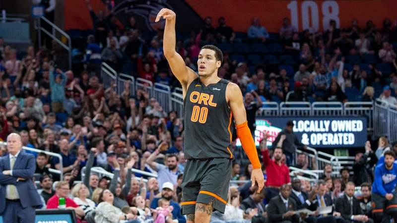 Aaron Gordon scored 26 points, Nikola Vucevic had 24 points, nine rebounds and nine assists, and the Orlando Magic surge past the Atlanta Hawks 135-126 on Monday night.