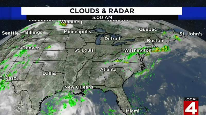 Metro Detroit weather forecast for July 24, 2020 -- morning update