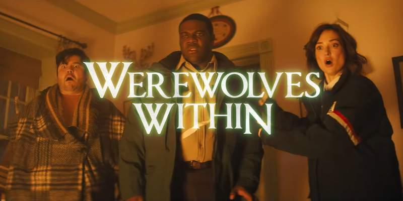 Werewolves Within opens in theaters June 25, 2021 and hits digital platforms July 2.