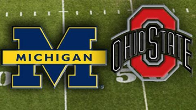 Ohio State Buckeyes Take On The Michigan Wolverines In Ann Arbor