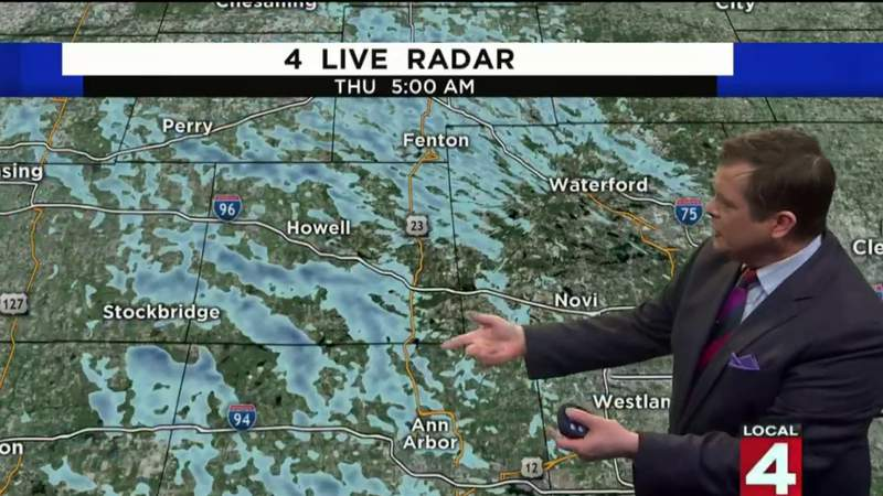 Metro Detroit weather: Cold air moving in after snow
