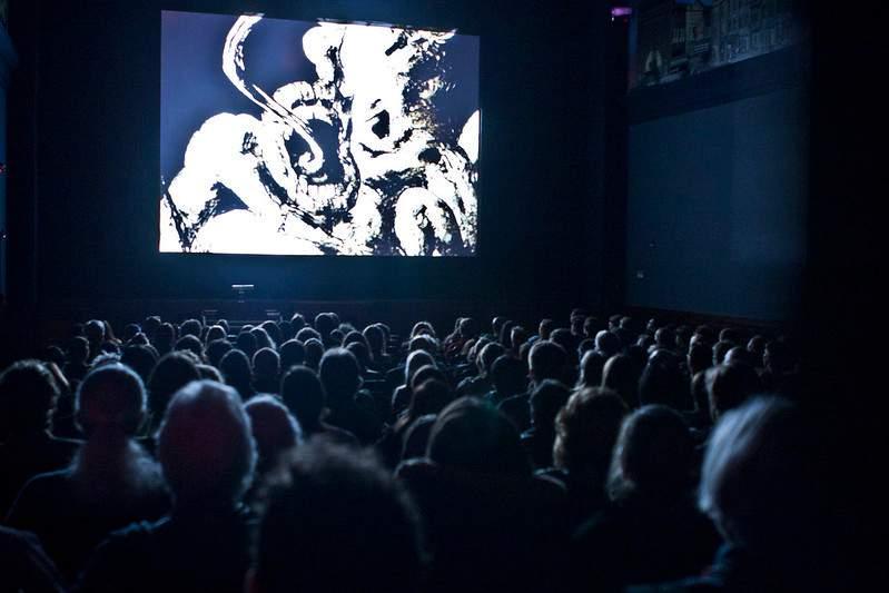 Screening at the Ann Arbor Film Festival.