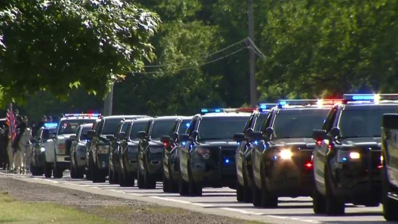 Funeral held for Monroe County Animal Control officer killed in crash