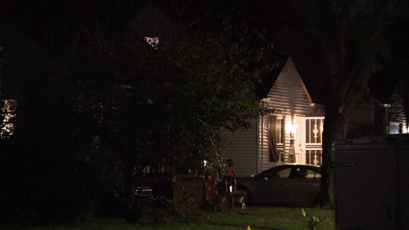 Police discovered a woman's body on Sept. 20, 2021, at this home on Henry Street in Inkster.