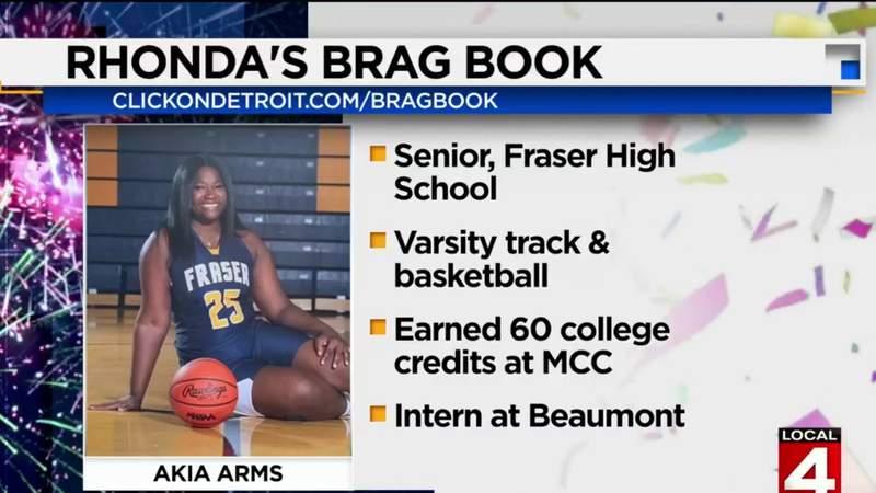 Rhonda's Brag Book: Akia Arms from Fraser High School