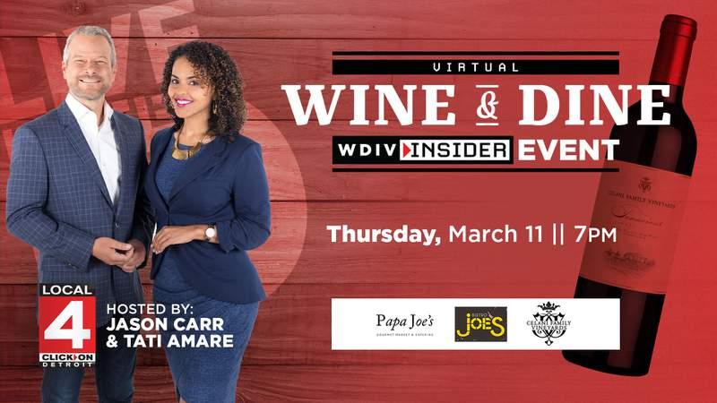 WDIV Insider Wine & Dine Event