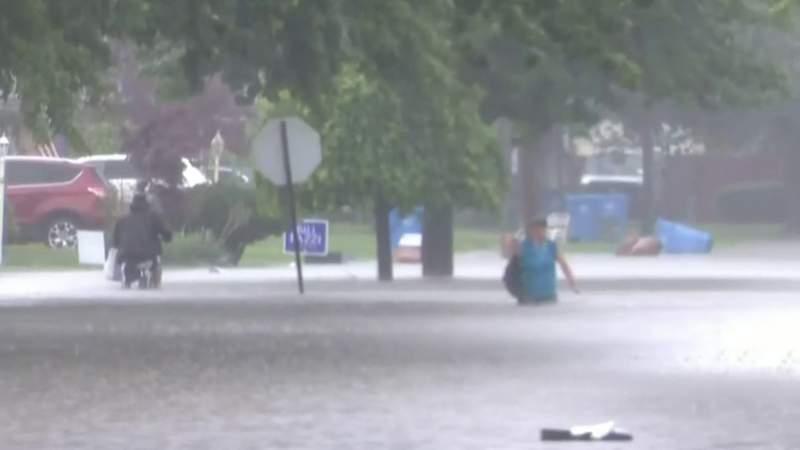 Dearborn Heights neighborhood experiences severe flooding