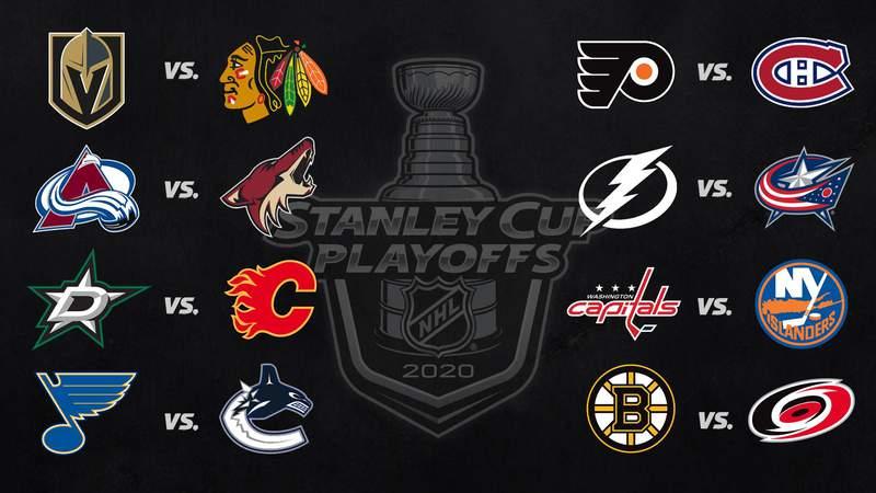 2020 Stanley Cup Playoffs round one