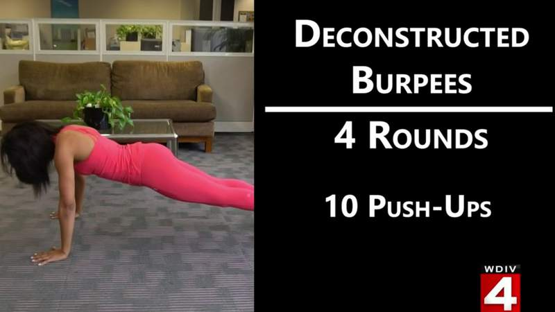Fitness Friday: How to do deconstructed burpees