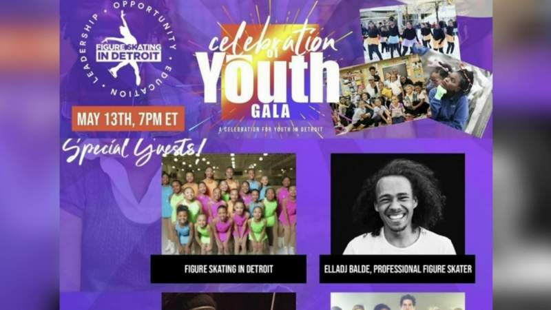 Detroit figure skaters show off skills during Celebration of Youth Gala