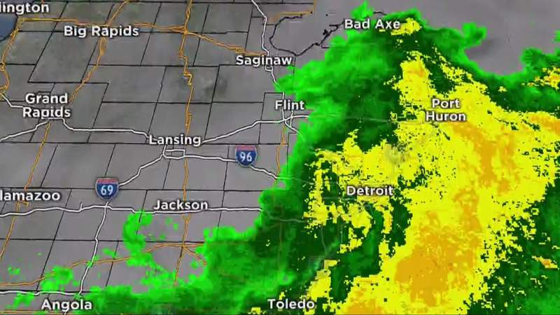 Metro Detroit weather: Tracking Friday storms -- some severe, June 18, 2021, noon update