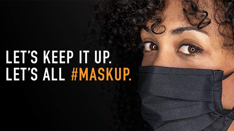 #MaskUp ad campaign by health care systems around the U.S.