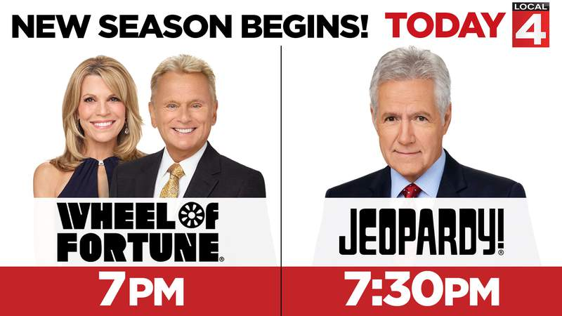 New Seasons of Wheel of Fortune and Jeopardy!