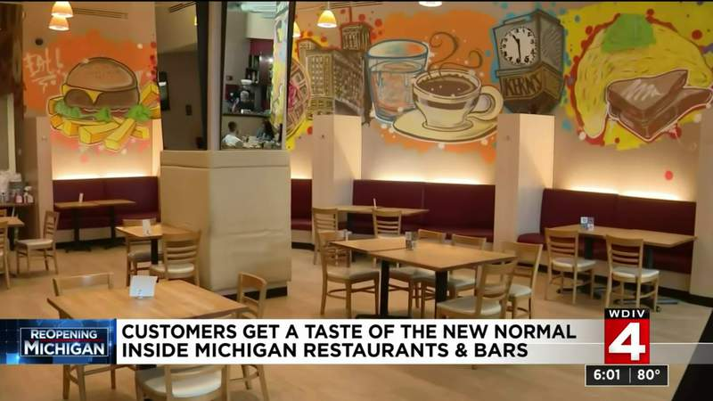How customers are handling reopening of Michigan restaurants with COVID-19 changes