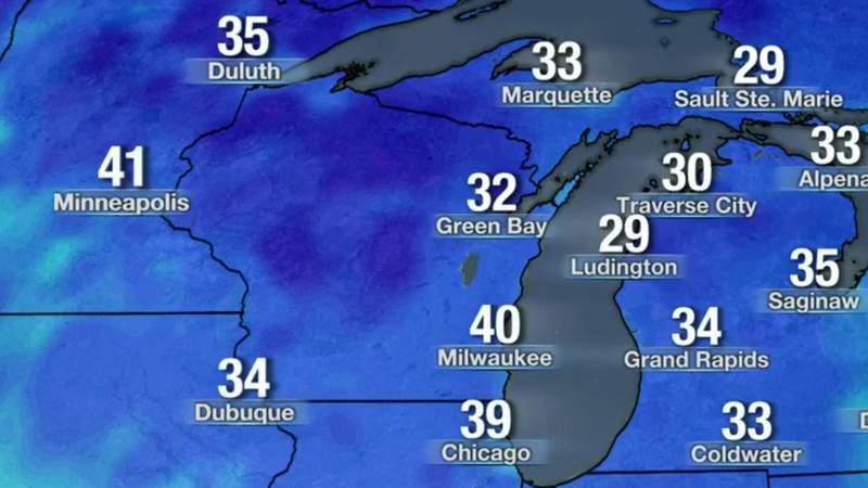 Metro Detroit weather: 5/8/21