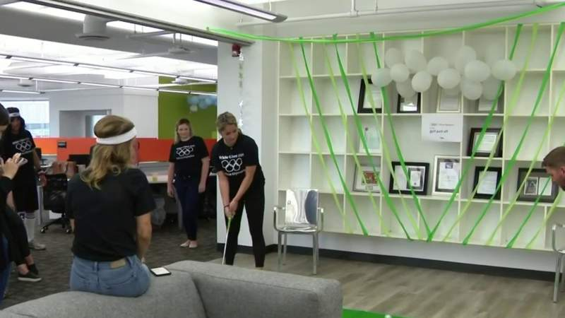 Metro Detroit company creates 'Office Olympics' to help welcome staff back to work