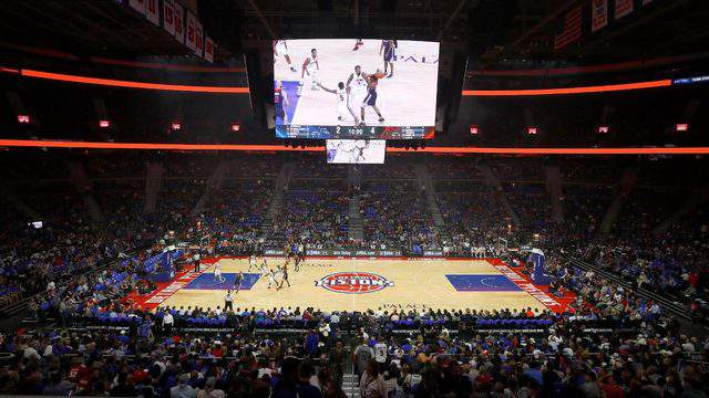 NBA – Detroit Pistons: demolito The Palace of Auburn Hills