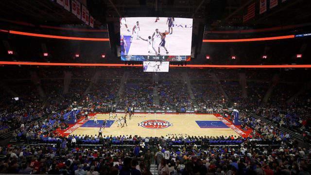 NBA – Detroit Pistons: demolito The Palace of Auburn Hills