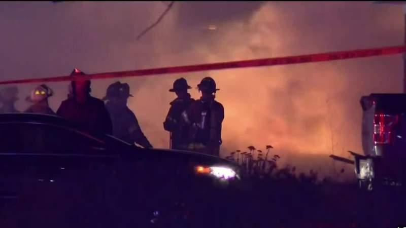 GF Default - Explosion sets home in Warren on fire
