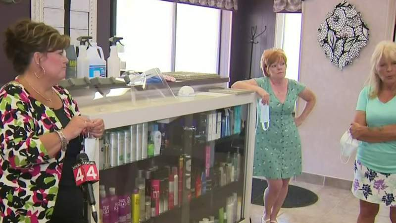 Personal care businesses prepare to safely handle customers