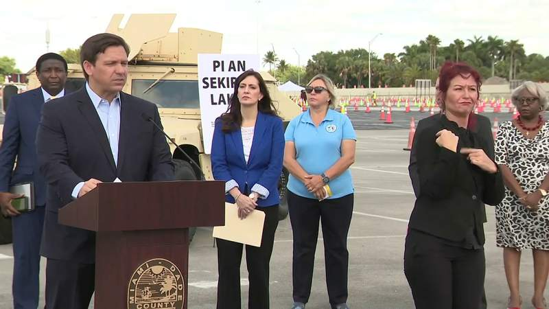 Governor DeSantis discusses rapid response coronavirus tests coming to Florida