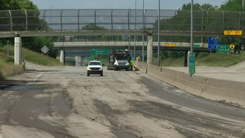 WB I-94 reopens in Detroit; Eastbound side to remain closed for 'extensive repairs'