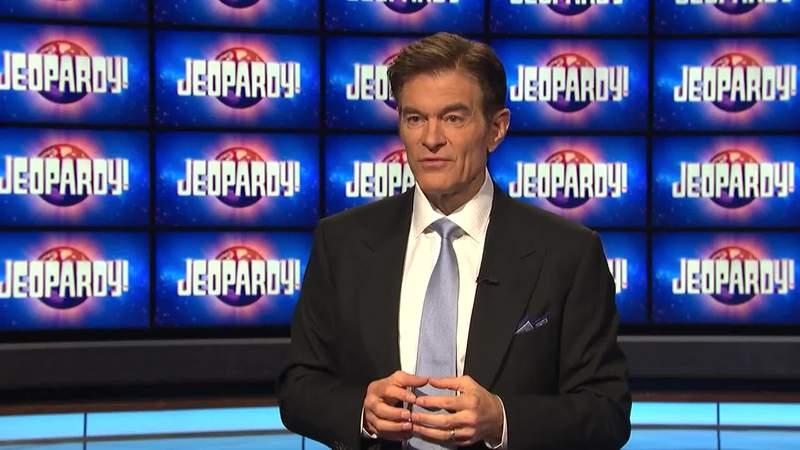 Dr. Oz hosts Jeopardy!