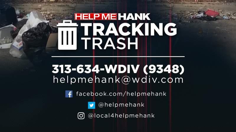 Tracking Trash graphic.