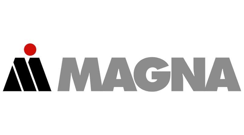 Magna Canadian mobile tech company logo