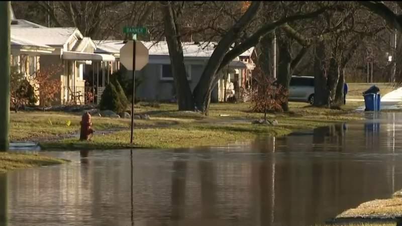 Water receding in Metro Detroit neighborhoods after record-breaking rainfall