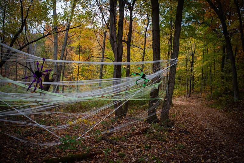 Halloween displays will be featured throughout the camp's 105-acre grounds.