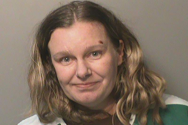 FILE - This undated file photo provided by the Polk County (Iowa) Jail shows Nicole Marie Poole, who also goes by the name Nicole Franklin. A trial has been scheduled for Franklin, accused of hate crimes in the Des Moines area, including intentionally running over a girl she thought was Mexican. She is charged with assault in violation of individual rights in connection with an incident at a convenience store and is scheduled to go on trial Feb. 3 in Des Moines. Court documents indicate she also goes by the name of Nicole Franklin. (Polk County Jail via AP, File)