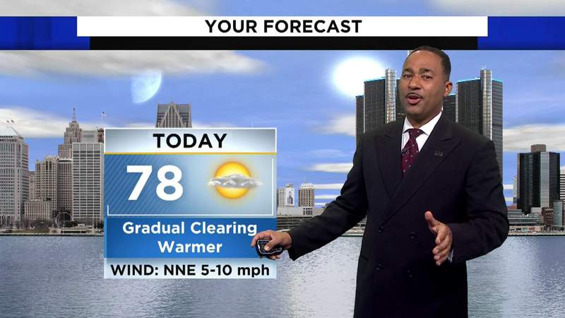 Metro Detroit weather: 7/17/21