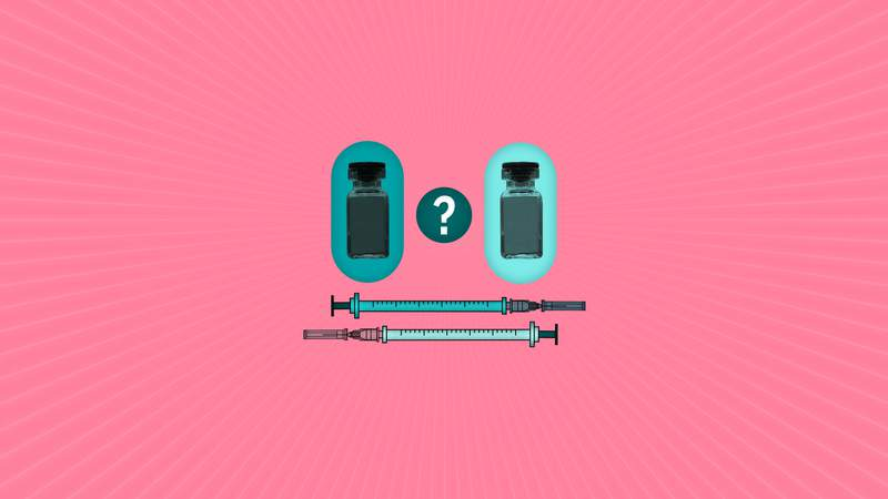 Can you mix and match two-dose COVID-19 vaccines? (AP Illustration/Peter Hamlin)