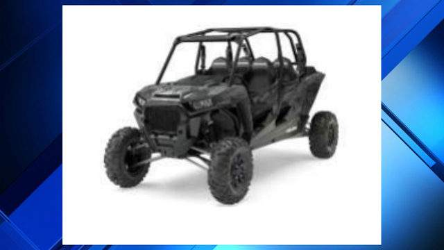A black Polaris XP 4 Turbo ATV was stolen during the overnight hours of May 23 in Bloomfield Township. (WDIV)