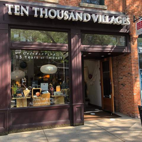Ten Thousand Villages in downtown Ann Arbor reopened for in-person shopping and follows strict safety protocols.
