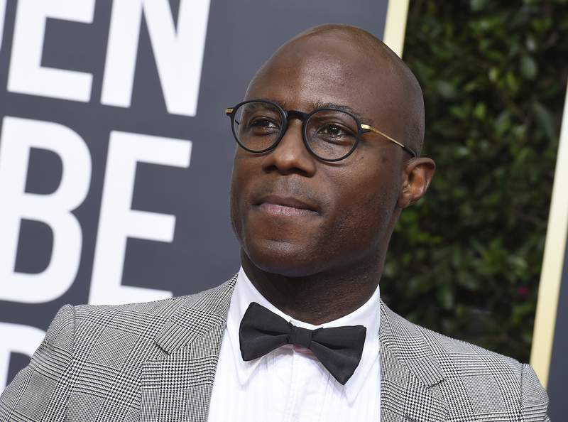 FILE - Barry Jenkins arrives at the 77th annual Golden Globe Awards in Beverly Hills, Calif., on Jan. 5, 2020. The Walt Disney Co. is developing a sequel to the 2019 live-action The Lion King, with Jenkins, the director of the Oscar-winning Moonlight and the James Baldwin adaptation If Beale Street Could Talk, directing. (Photo by Jordan Strauss/Invision/AP, File)
