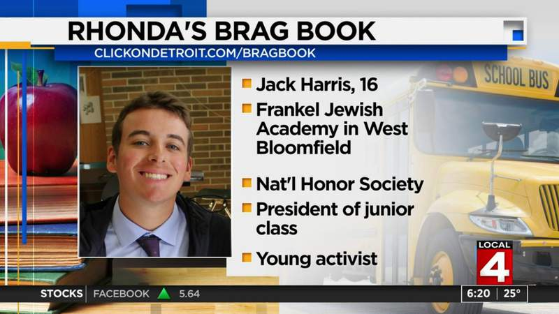 Rhonda's Brag Book: Jack Harris