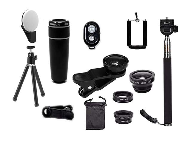 This bundle has everything you need to easily shoot amazing photos and videos.