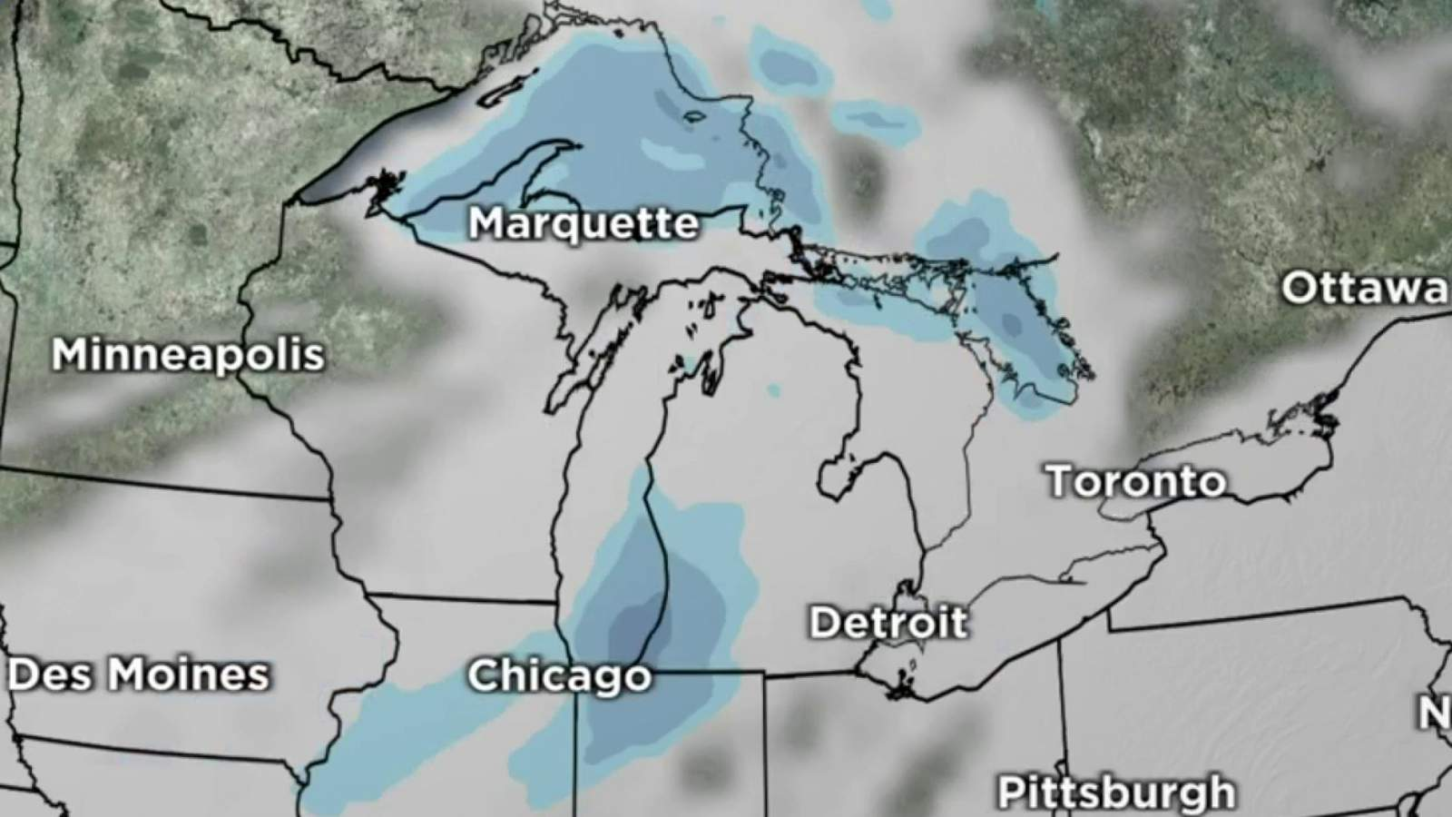 Metro Detroit weather: 2 waves of snowfall to hit by Tuesday - WDIV ClickOnDetroit