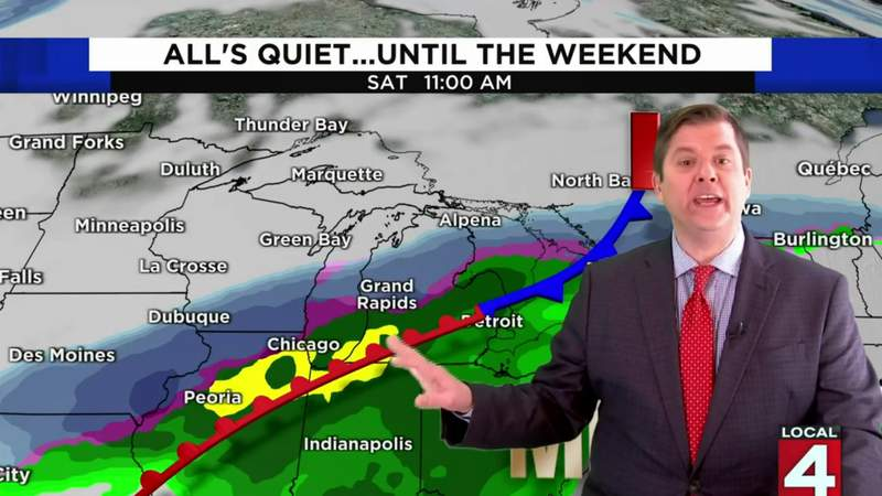 Metro Detroit weather forecast for Dec. 10, 2020 -- morning update