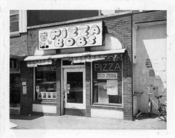 A photo of Pizza Bob's from 1972. The eatery will move to a new location on Sept. 1, 2020. Photo courtesy of Pizza Bob's.