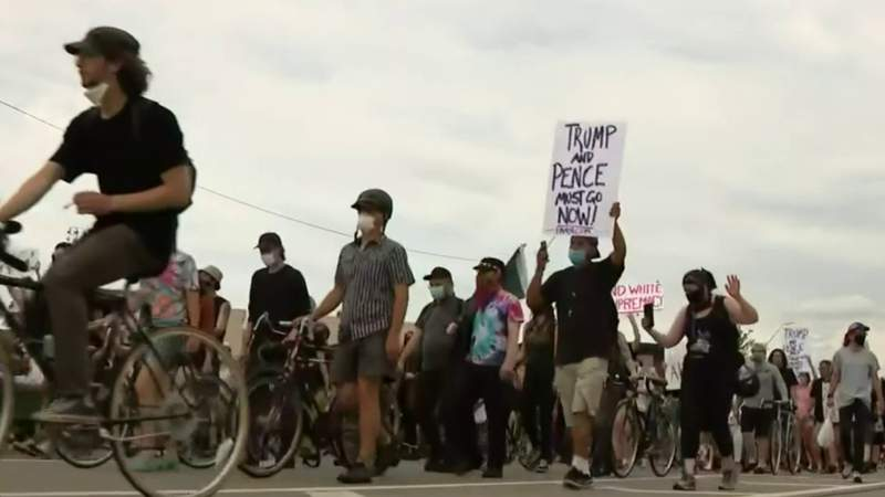 Protests against police brutality continue this weekend in Metro Detroit