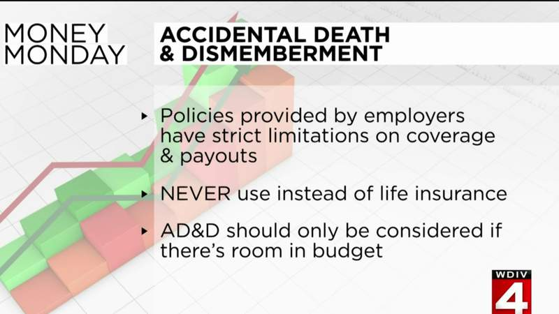 Money Monday: Accidental death and dismemberment insurance
