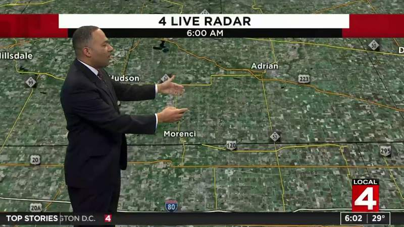 Metro Detroit weather forecast: Winter storm warning issued for Metro Detroit