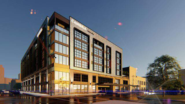 Cambria Hotel rendering for Downtown Detroit location. (Choice Hotels)